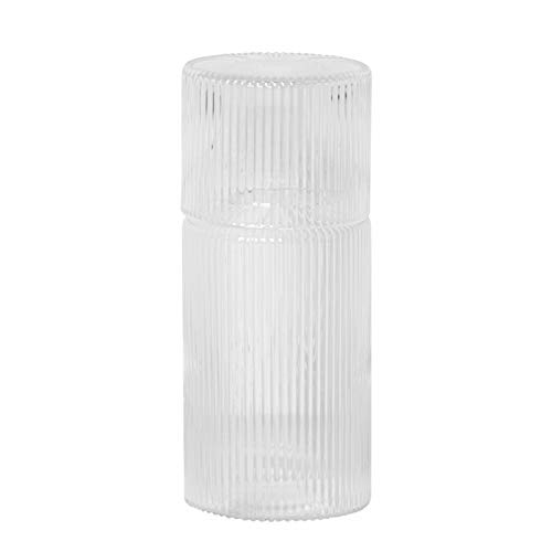 Ferm Living 5447 - Set caraffa in vetro 'Ripple'