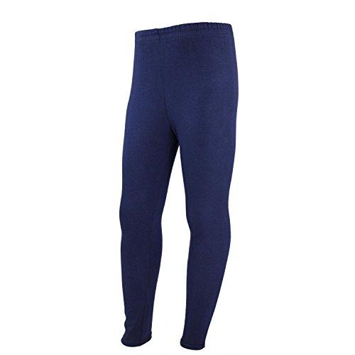 TupTam Leggings Largos para Niña Mallas Pantalones, Azul Oscuro, 122