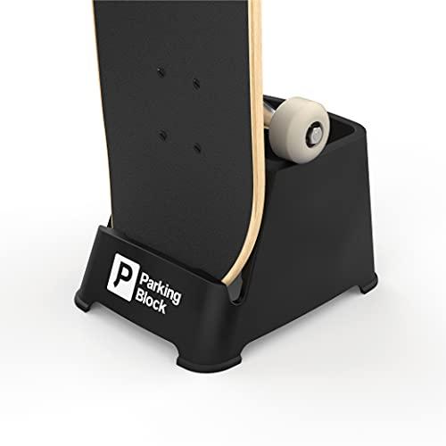Parking Block Skateboard Storage, Display, Organizer - Portable Stand
