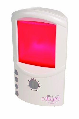 Efbe-Schott SC CG 912 Pro Beauty Cosmedico - Lampada al collagene per azione antirughe, fluido ialuronico incluso da 30 ml
