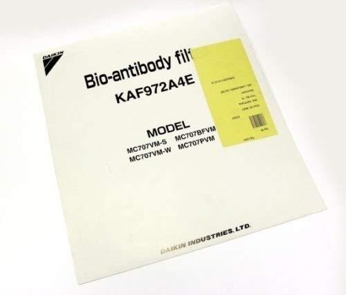 DAIKIN - Filtro di ricambio per purificatore d'aria Bio-anticorpo, filtro (Successore di KAF972A4 · KAF979A4) KAF-979B4