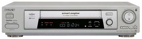 Sony SLV-SE800 VHS-Videorekorder Silber