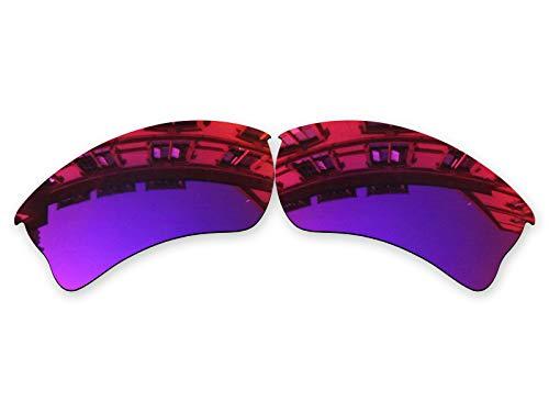 Vonxyz Lenses Replacement for Oakley Quarter Jacket Sunglass - Midnight MirrorCoat Polarized