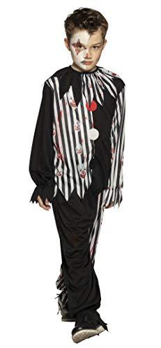Boland 78137 - Disfraz infantil de payaso sangriento, multicolor