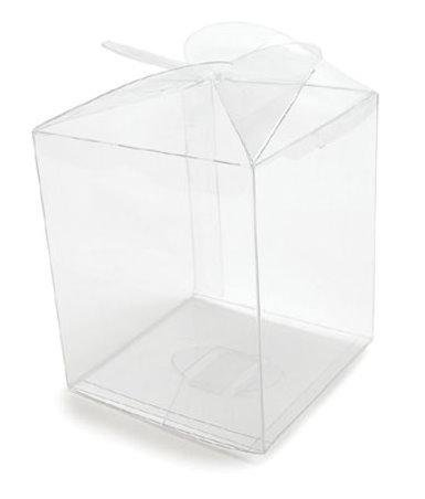 Confectionery House Clear Candy Apple Box