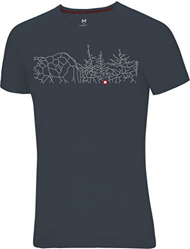 Ocun Raglan T Bleau Forest - graphite XXL