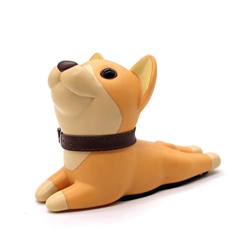 Tope Puerta Adhesivo Lindo Titular Topes de dibujos animados creativo del silicón tapón de la puerta de seguridad juega for los niños Niños Muebles for el Hogar Hardware (Color : Dog 2)