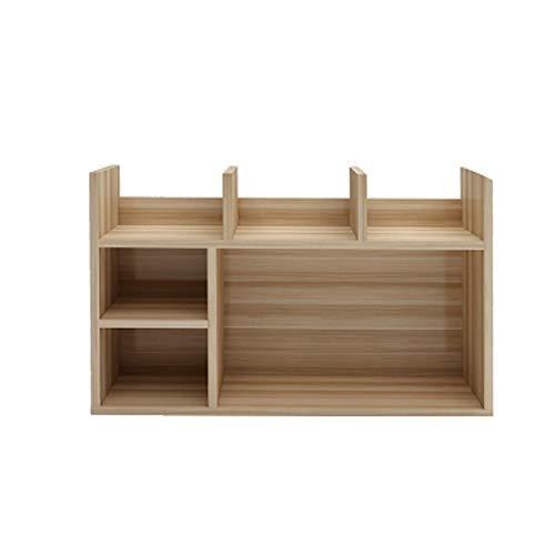 Jian E Boekenplank - Eenvoudige slaapkamer Multi-verdiepingen kantoor Kleine boekenkast Vensterbank Afwerking desktop Multi-functie kleine boekenkast
