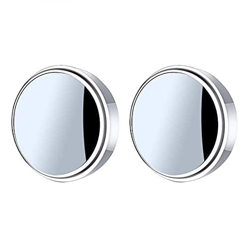 YUECI Fan Shape Toter Spot Spiegel Rückspiegel 360 Grad verstellbarer Weitwinkel-Rückspiegel Einfache Rückwärts-Rückansicht Adjustabe Wenige Konvexe Weitwinkel Rückspiegel für Auto Toter Winkel