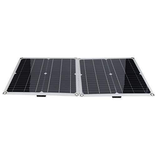 Panel solar, panel solar plegable, panel solar USB portátil, resistente al agua para portátiles Teléfono móvil Respetuoso del medio ambiente Hogar Duradero