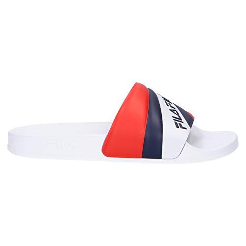 FILA Zehansandalen für Damen 1010904 92N Marina White Navy Schuhgröße 41 EU