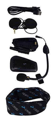 Cardo Scala Rider FREECOM Bluetooth Motorcycle Helmet Communication Headset with Neck Gaiter (FREECOM 2+)