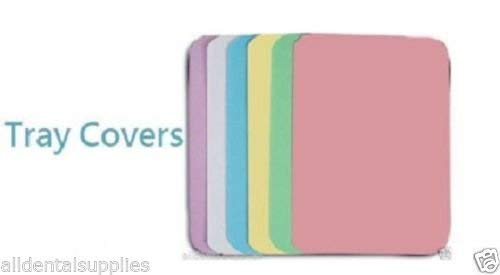 LAVENDER Dental Medical Safedent Disposable Paper Tray Covers 8.25