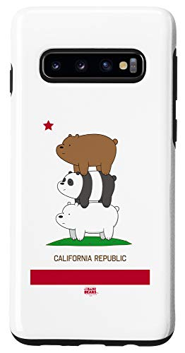 Galaxy S10 We Bare Bears Cali Stack Case