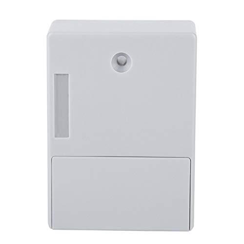 Cerradura Digital de plástico ABS Cerradura Digital Cerradura Digital DIY Cerradura de gabinete RFID con Kit de instalación Adecuado para Puerta de Madera, gabinete