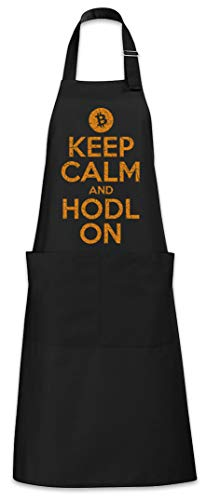 Urban Backwoods Keep Calm And HODL On Tablier De Cuisine Cuisson Gril BBQ Barbecue