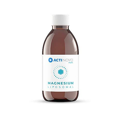 Magnesium liposomal | Sanddorn 250 ml PURE | hochdosiert | Muskeln & Psyche | Tagesdosis 200 mg Magnesium | hohe Bioverfügbarkeit | flüssig | ohne Zusätze | vegan