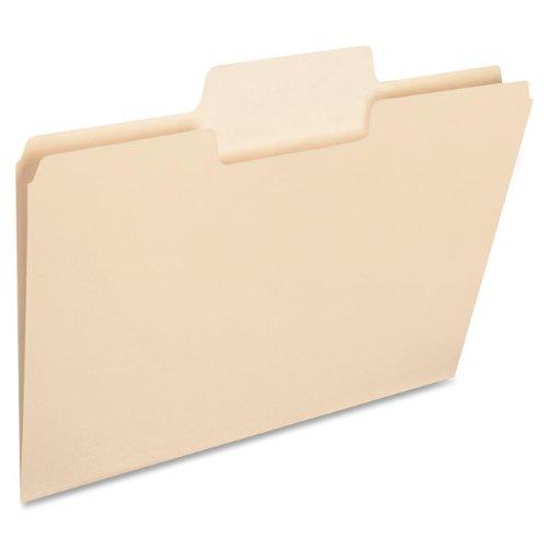 Smead SuperTab Heavyweight File Folder, Oversized 1/3-Cut Tab, Letter Size, Manila, 50 Per Box (10401)