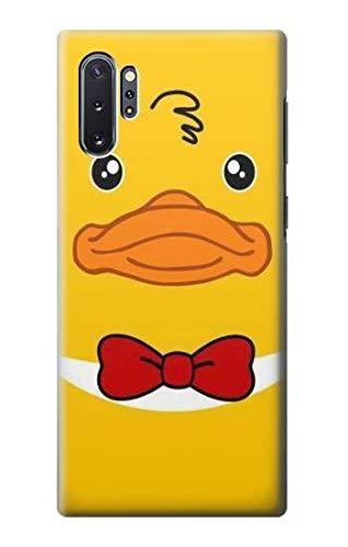 Innovedesire Yellow Duck Tuxedo Cartoon Hülle Schutzhülle Taschen für Samsung Galaxy Note 10 Plus