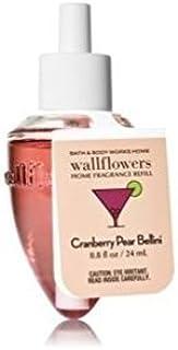 Bath and Body Works Cranberry Pear Bellini Wallflower Home Fragrance Refill Single Bulb