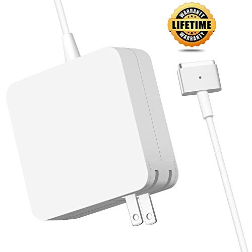 Mac Book Air Charger, Great Replacement 45W Magsafe 2 Power Adapter Charger, T-Tip Magnetic Chargers Compatible with Mac Book Air 11 inch and 13 inch