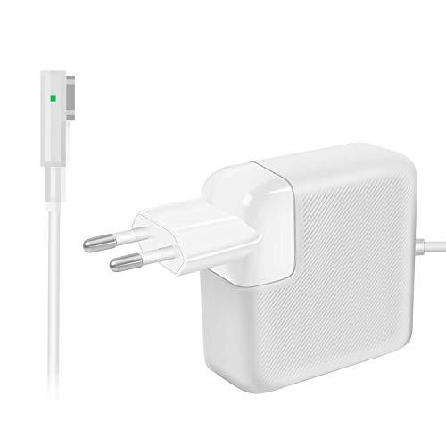 Compatibile con Mac Pro Alimentatore 60W Magnetico Caricabatterie, per Mac Pro 13 Pollici con Connettore a'L', Dalla Fine Del 2009