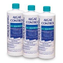 Leslie's Algae Control Preventer for Pools 1 Quart [3 Bottles]
