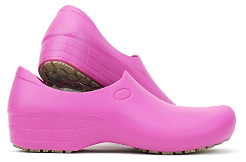 SSW-PIK Waterproof Non-Slip Shoes (8, Pink)