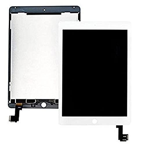 Pantalla táctil LCD reemplazo del digitalizador para iPad Air 2 A1566 A1567 (blanco)