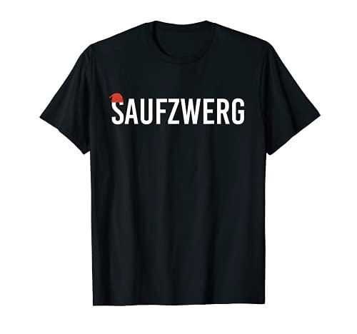 Saufzwerg JGA - Disfraz de payaso para fiesta de leche para hombre y mujer Camiseta