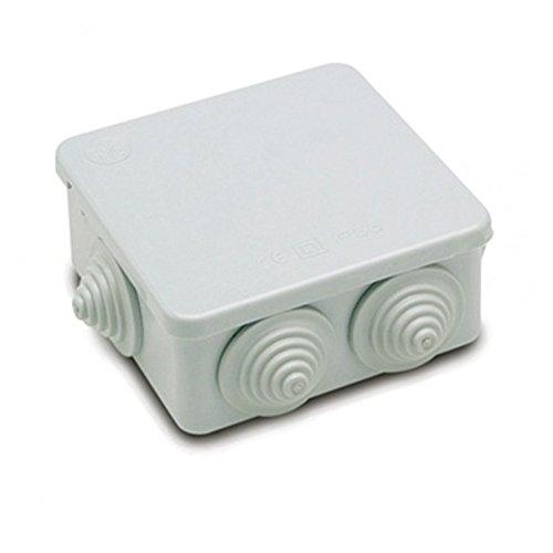 Hlyjoon IP65 Resistente al Agua Caja de Instrumentos de Caja de Proyecto El/éctrico Caja de Conexiones con Tapa Abisagrada Cubierta Puerta PVC 89 * 59 * 35mm//3.5 * 2.32 * 1.37in