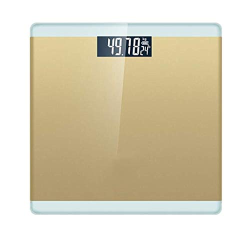 Learn More About JFDKDH Bathroom Scales High Precision Digital Scales with Large Backlit Display Weight Scale,Step-On Technology Electronic Scale,Weighing (Color : Yellow)