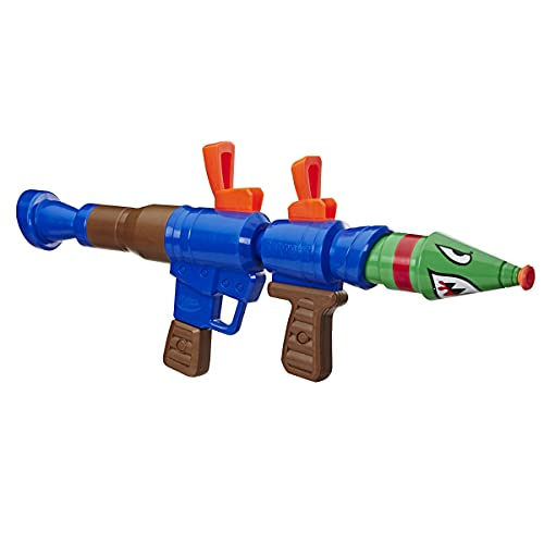 Juguete Lanzador de Agua Fortnite RL Nerf Super Soaker. Aguacero Extremo. Capacidad de 98 mililitros, para niños,...