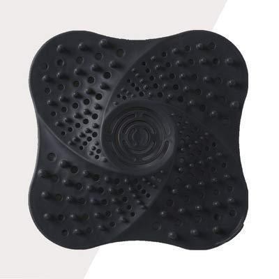 Pantalla de filtro de depósito, material TPR resistente al desgaste y duradero, puede filtrar eficazmente los residuos, apto para cocina, baño y otros lugares.