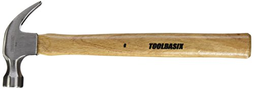 16-Ounce Hickory Handle Vaughan 133-50 DD16 Curved Claw Double Duty Hammer