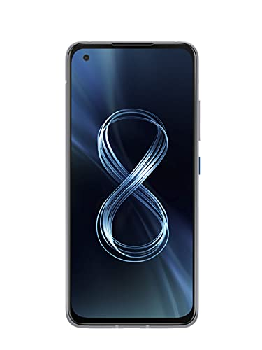 ASUS Zenfone 8 ZS590KS-8J010EU, Smartphone 5G, Display 5,92' AMOLED 2400x1080 120Hz, 256 GB, RAM 8GB, 3 fotocamere, 4000mAh, Dual SIM, (2021), SILVER