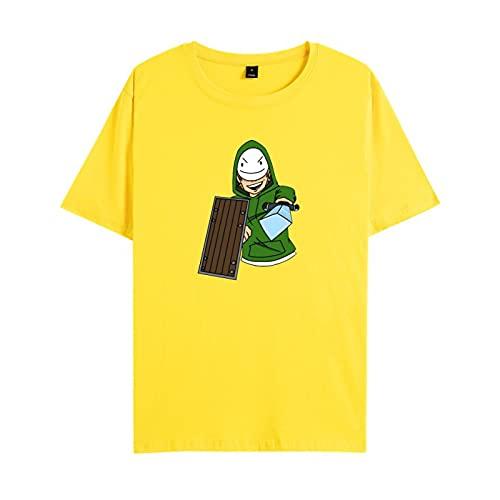GIRLXV Summer Dreamwastaken Camiseta De Manga Corta Unisex Street Bottoming Camiseta De Manga Corta para Hombres Y Mujeres De Moda 4XL