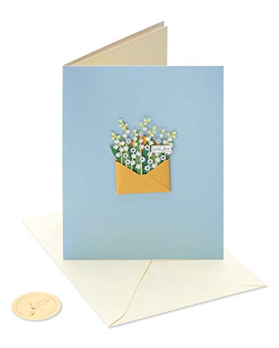 Papyrus Blank Friendship Card (Flowers)