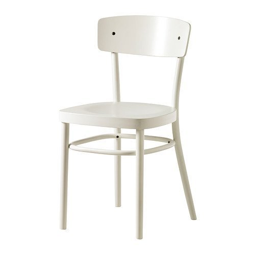 IKEA IDOLF -Stuhl weiß