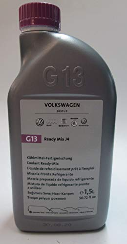 Originele Volkswagen G13 koelvloeistof koelmiddel Ready Mix J4 VW Audi Seat Skoda 1,5 l kant-en-klare mix G013040M2
