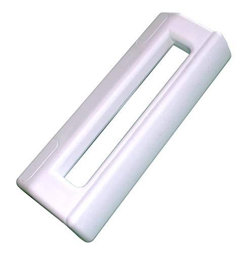 Tirador de puerta blanco universal para frigorífico, congelador (199 x 30 x 85 mm)