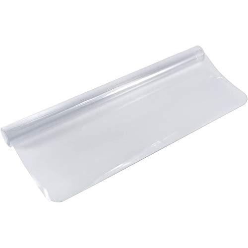 Silla Alfombrilla, 1.5mm Estera De Protección Para El Suelo Transparente Protector De Suelo De Pvc