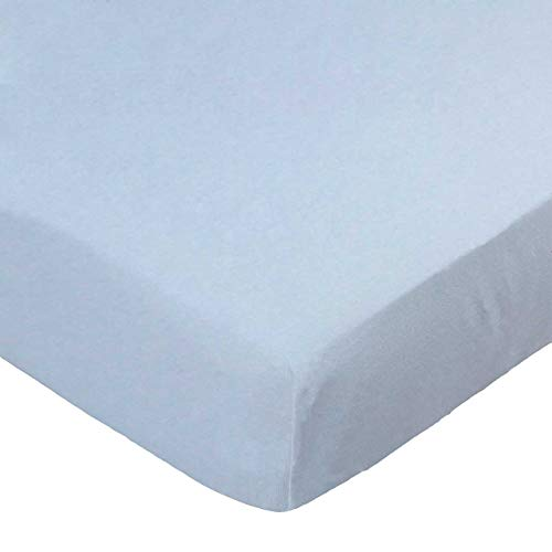 Fantastic Prices! SheetWorld Fitted 100% Cotton Jersey Square Play Yard Sheet Fits Joovy 38 x 38, Or...