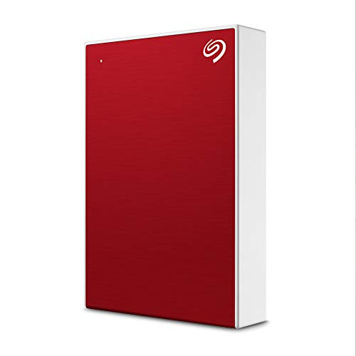 Seagate One Touch 4 TB External Hard Drive HDD – Red USB 3.0 for PC...