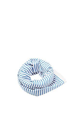 ESPRIT edc by Accessoires Damen 038CA1Q007 Schal, Blau (Blue 430), One Size (Herstellergröße: 1SIZE)