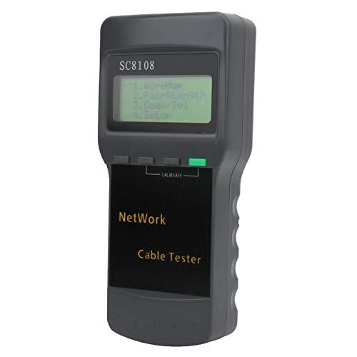 XiangXin Probador de Cables, Duradero, confiable y práctico, probador de Cables telefónicos, Industria portátil Estable para Cables, líneas telefónicas, señales de Audio