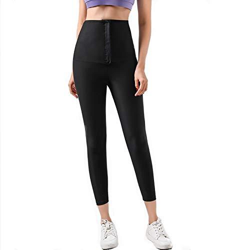 Las Mujeres Pantalones Cuerpo Shaper Adelgazar Pantalones Cortos Termo Shapewear Pantalones Cortos Sudoración Cintura Elástica Entrenador Control de Barriga Fitness Leggings Cortos