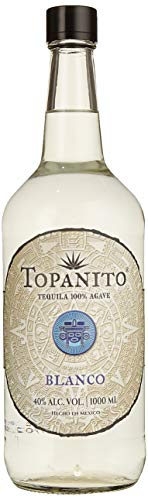 Topanito Blanco Tequila 100% Agave (1 x 1L)