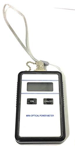 Mini óptico de fibra óptica medidor de potencia (modelo 3205)–ligero y compacto–Incluye Funda protectora y instrucciones en inglés