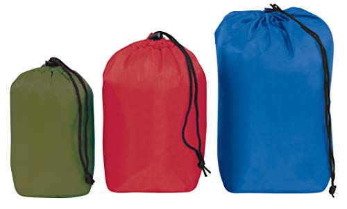 Outdoor Products Ditty Bag 3-Pack Assorted, Combo Pack: Small, Medium and Large